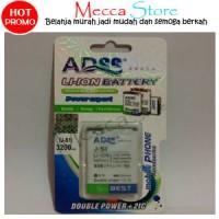 Jual Baterai Blackberry BB J-S1 3200Mah Battery - Batre ADSS Double Power Murah