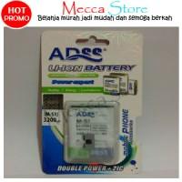 Jual Baterai Blackberry BB M-S1 3200Mah Battery - Batre ADSS Double Power Murah