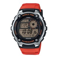 harga Jam Tangan Casio Digital Men's Ae-2100w-4av Original - Orange Tokopedia.com