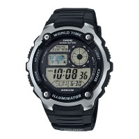 harga Jam Tangan Casio Digital Men's Ae-2100w-1av Original - Hitam Tokopedia.com