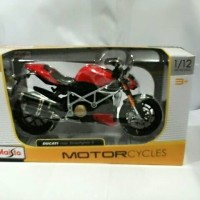 harga Maisto 1/12 Motor Moge Ducati Street Figther Tokopedia.com