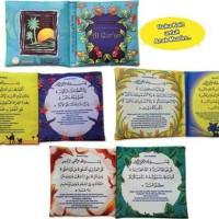 SURAT PENDEK ALQUR'AN - Buku Bantal Kain Softbook Seri Anak Muslim
