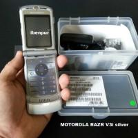 harga Original Motorola Razr V3i - Silver Tokopedia.com