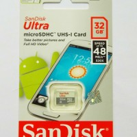 harga Sandisk Ultra Micro Sd Card Uhs-i Class 10 (48mb/s) 32 Gb Value Pack Tokopedia.com