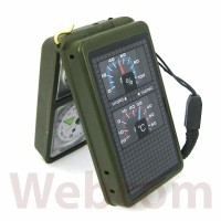 Kompas/ Compass 10 Fungsi | Multifunction 10 in 1 Portable Compass