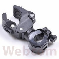 Braket Senter Sepeda | Bike Mount Flashlight Holder AB-2967