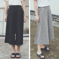 Jual Celana Kulot Midi Pants Cullotes Fashion Wanita Baju Import Korea Murah