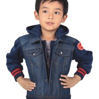 Jaket Anak Laki Laki / Jaket Casual Anak / Jaket Jeans Anak Cnu 002