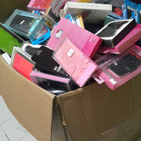 all flip cover dompet hp bahan kulit anymode samsung nokia sony oppo l