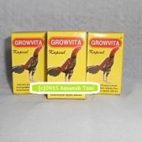 harga Obat ayam aduan agar lebih kuat dan gesit GROWVITA Tokopedia.com