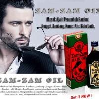 ZAMZAM OIL PENUMBUH JAMBANG, KUMIS AMPUH