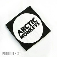 "Tumblr Tee / T-shirt / Kaos ""Arctic Monkeys"" in Black"