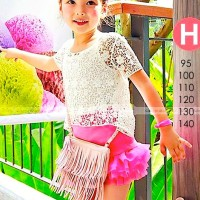 harga Baju Anak Perempuan Import 3in1 Brukat Rok Tutu Gw122h Sc-14730 Tokopedia.com