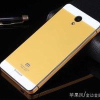 Xiaomi Redmi Note 3G / Note 4G - Back Case One Two Tone Tempered Glass