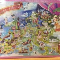 Tenyo Disney Puzzle - 1000 pcs - Amazing Europe