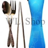 Set Peralatan Makan Sendok, Garpu, Sumpit Souvenir Pernikahan Wedding