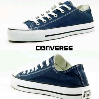 Sepatu Converse All Star Low Navy Made In Vietnam Original Murah# 173