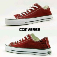 Sepatu Converse All Star Low Maroo Made In Vietnam Original Murah# 172