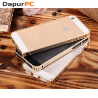 Ultra Thin Aluminium Metal Bumper Case Single Color for iPhone 5/5s