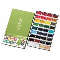 Kuretake Gansai Tambi Watercolor - 36 Color Set