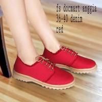 harga Fs Docmart Anggia Sepatu Wanita Merah Ankle Boots Sneakers Kets Dance Tokopedia.com