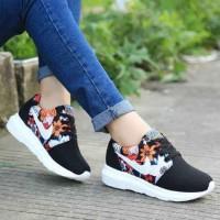 harga Drd05 Sepatu Sneakers Wedges Ankle Boots Kets Murah Wanita Hitam Dance Tokopedia.com