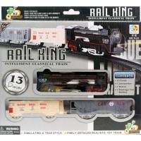 RAIL KING - INTELLIGENT CLASSICAL TRAIN TL01 / MAINAN KERETA API+TRACK