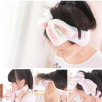 Ikat Rambut Cuci Muka Ikat Kepala Handuk Rambut/Hair Band Korean Style