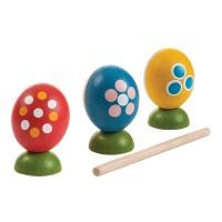 Plan Toys Egg Percussion Set - PT5602