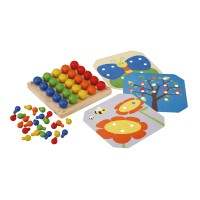 Plan Toys Creative Peg Board - PT5162