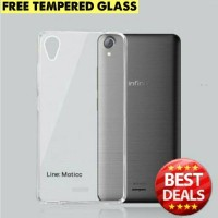 [paket] Ultrathin Case Infinix Hot Note X551 + New Tempered Glass
