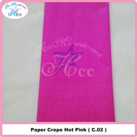 Paper Crepe Hot Pink