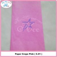 Paper Crepe Pink