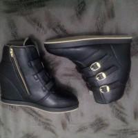 harga Sepatu Wanita Cewek Sneaker Wedges Exclusif Tokopedia.com