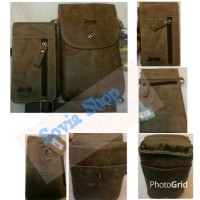 Harga tas kulit selempang dan tempat hp jeep kulit tas pria   Pembandingharga.com