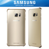 harga Samsung Galaxy S6 Edge+ Plus Protective Clear Cover - Gold Tokopedia.com