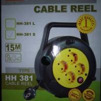 Box Kabel Gulung Rol Hinohikari 15m Full SNI 381S