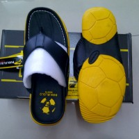 harga Sandal Kulit Pakalolo 2329 (black-yellow) Tokopedia.com