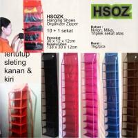 HSOZ sleting tertutup polos (rak sepatu/sandal)