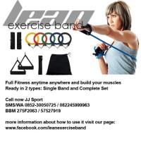 harga LEB - Lean Exercise Band Alat Fitness Portabel Complete Set Tokopedia.com