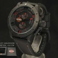Harley Davidson 6381 Red Black Leather