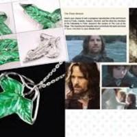 harga Liontin Daun Lord Of The Ring, Kalung  Perak 925 Lapis Emas Putih 18k Tokopedia.com