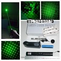 kode 303V GREEN LASER POINTER Laser hijau, daya 1000Mw, menjangkau 1