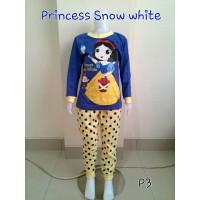 Baju Tidur Anak Piyama Princess Snowhite