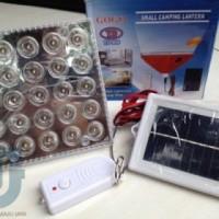 Emergency solar panel tenaga matahari 25 LED charge