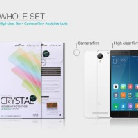 Nillkin Clear Screen Protector Redmi Note 2 Wholeset Edition