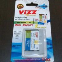 harga Battery Nokia Bl-5c Merk Vizz Tokopedia.com