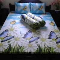 Sprei Katun Butterfly Garden
