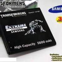 Baterai Samsung Galaxy S4 I9500 Batre Transformers 5600mah