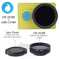 CPL Filter Lens 37mm for Xiaomi Yi